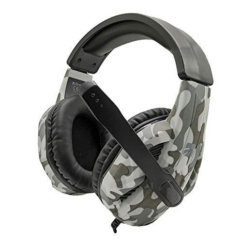 Auriculares Gaming Mod. Shardan Headset con micrófono y Control de Volumen 90470