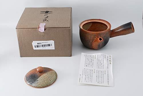 Shigaraki Pottery Midori Mamekake Kyusu Teekanne G5-2709