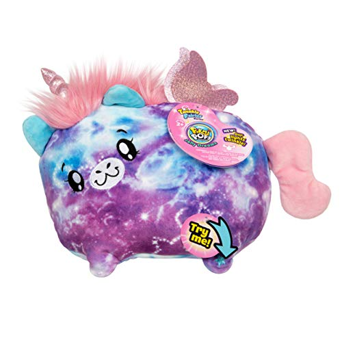 "Pikmi Pops Jelly Dreams - Twinkle Fairies Series - Stella The Unicorn - Collectible 11"" LED Light Up Glowing Plush Toy"