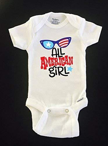 All American Girl Gerber Onesies® bodysuit