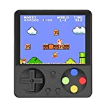 Kourtrico Handheld Game Console, Retro Game Console with 333 Built-in Classic Games, 3-inch HD Screen Retro Gaming Console, GBA/GBC/SFC/SMD FC Game Console, Supports TV Connection