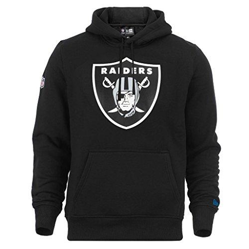 New Era NFL Oakland Raiders Sweat-Shirt à Capuche - Noir - Taille L