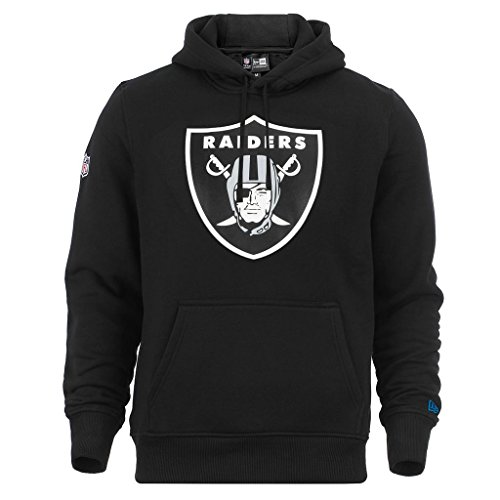 New Era NFL Oakland Raiders Sweat-Shirt à Capuche - Noir - Taille L