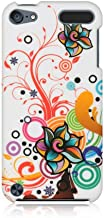 Dream Wireless Crystal Rubber Case for iPod touch 5 (White Autumn Flower)
