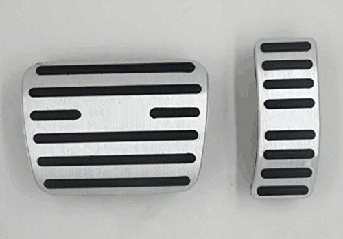 Per A3 Q3 Q5 Q7 A6L AT Coperchio di protezione del pedales Acceleratore freno dell'File automobile pedale 2 pezzi