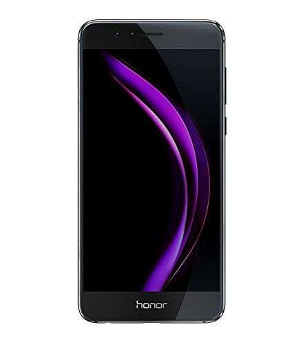 Honor 8 Smartphone 4G LTE, Display 5.2' IPS LCD, Octa-Core HiSilicon Kirin 950, 32 GB, 4 GB RAM, Doppia Fotocamera 12 MP, Nero
