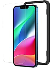 NIMASO ガラスフィルム iPhone13 Pro / iPhone 13 用 液晶 保護 フィルム iPhone13Pro 対応 ガイド枠付き NSP21H288
