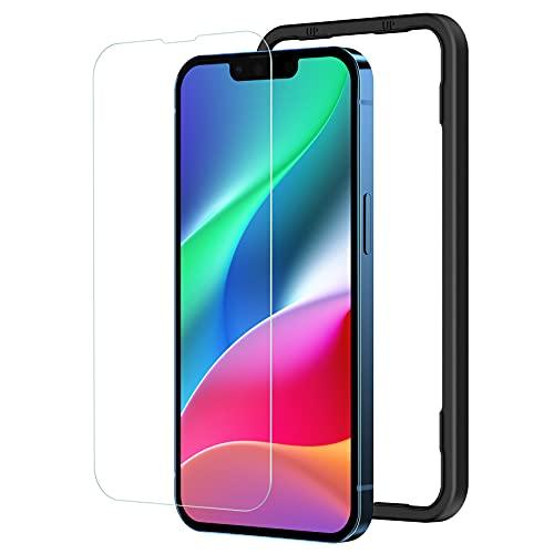 NIMASO ガラスフィルム iPhone13 Pro   iPhone 13 用 液晶 保護 フィルム iPhone13Pro 対応 ガイド枠付き NSP21H288