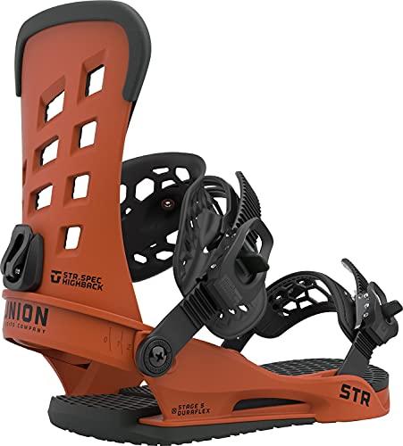 Union STR Herren Snowboard-Bindung, Größe M (36-38), Burnt Orange