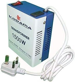 KODaMa Transformer 220V to 110V Power Converter 1500 Watt KOT1500W Original KODAMA Brand