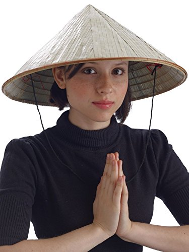Chinese Bamboo Coolie Hat