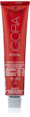 Schwarzkopf IGORA Royal Premium-Haarfarbe 8-65 hellblond schoko gold, 1er Pack (1 x 60 g)