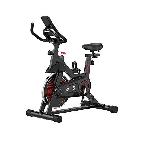 Bicicleta de spinning Bicicleta De Ejercicios, Ciclismo Interior Bicicletas De Ejercicios Para El Hogar, Máquinas Bicicletas De Ejercicios, Cinturón / Rueda Volante / Soporte / Asiento Ajusta(Color:B)