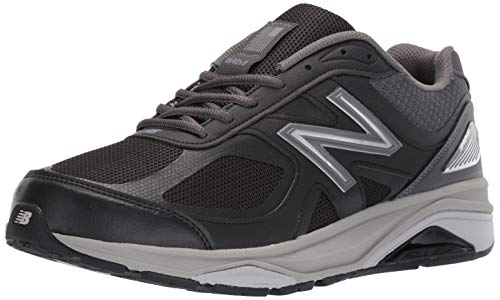 New Balance Men's Made in US 1540 V3 Running Shoe, Black/Castlerock, 12 Wide