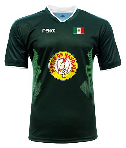 Jersey Mexico Mayos de Navojoa 100% Polyester_Made in Mexico (XX-Large) Green