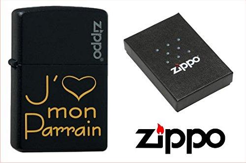 Zippo - J'aime mon Parrain - Baptême Noël & Communion