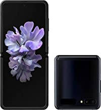 $1049 » Samsung Galaxy Z FLIP SM-F700U1 Factory Unlocked (ATT, TMOBILE, VERIZON, Sprint) - US Warranty (Mirror Black) (Renewed)