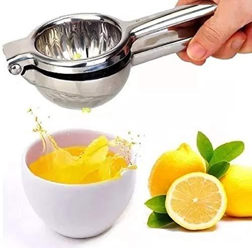 Espremedor De Limão Laranja Chef Aço Inox Maciço Super Forte
