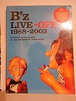 BOOK 本 B'z 15周年記念 FC限定写真集 LIVE-OFF 1988-200
