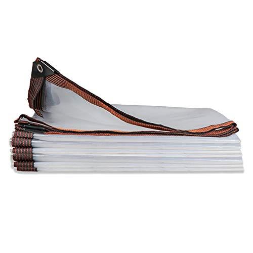Lona Impermeable, Transparente Resistente Al desgaste Outad Toldo Lona Impermeable/A Prueba de Viento/A Prueba de Polvo/A Prueba de Lluvia Toldo Lona con Ojales (Size : 10x10m)