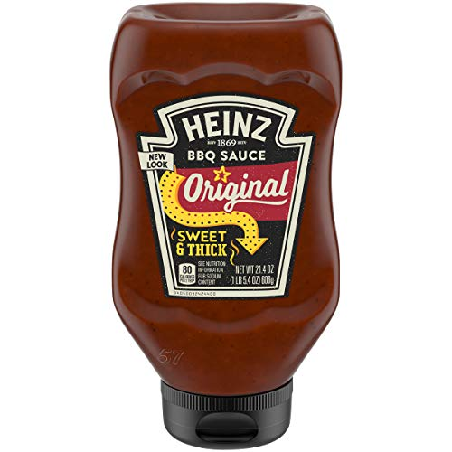 Heinz Original Sweet & Thick Barbecue Sauce, 21.4 oz Bottle