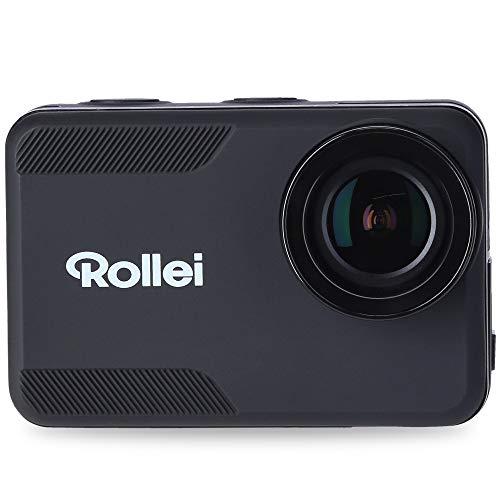 Rollei Action-Cam 6s Plus I 4K 30fps Unterwasserkamera wasserdicht bis 10m Tiefe, Zeitraffer, Slow-Motion, Loop Funktion I inkl. 7-TLG. Halterungen
