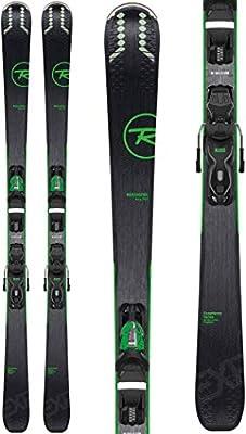 Rossignol Experience 76 Ci/Xpress 10 Ski Package Mens Sz 162cm Black/Green