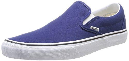 Vans Classic Slip On Shoes US 5 Twilight Blue True White