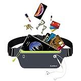【ランニングポーチ】 Linkax ウォーキングポーチ ジョギング ウェストバッグ 大容量 防水 スポーツ用 レディース・メンズ兼用