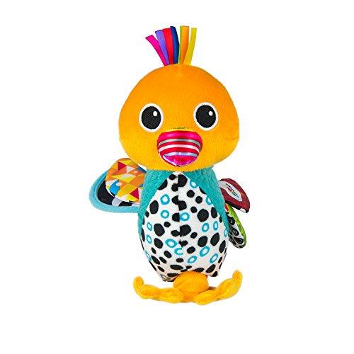 Lamaze Baby Spielzeug Wanja, die Watschelente Clip & Go | Hochwertiges Kleinkindspielzeug | Greifling stärkt Eltern-Kind-Bindung | Ab 0 Monate