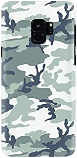 Stylizedd Samsung Galaxy S9 Slim Snap Case Cover Matte Finish - Artic Camo - Grey