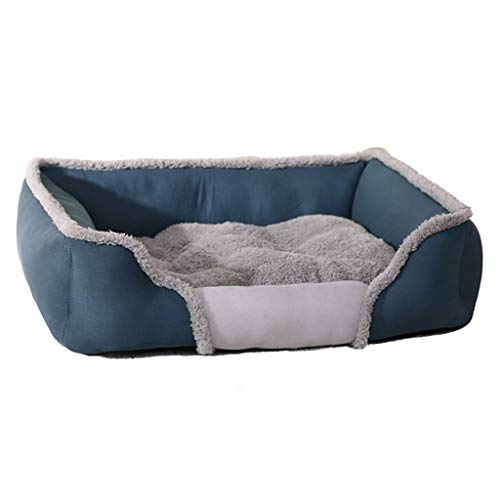 Hondenbed zacht wasbaar warm fleece huisdier kat mand kussen kitten puppy kennel pad
