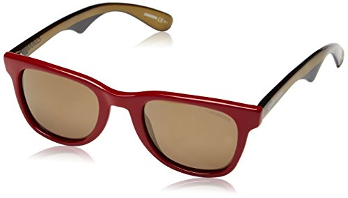 Carrera 6000 VP 2VB Occhiali da Sole, Rosso (Burgundy Green Camouflage/Brown Gold Mirror), 50 Unisex-Adulto