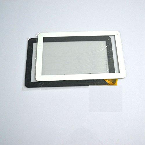 Negro Color EUTOPING  De Nuevo 10.1 Pulgadas Pantalla tactil Digital La sustitución de para Woxter QX 102 QX102