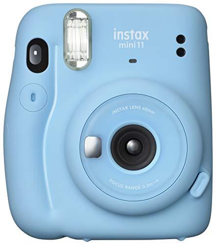 FUJIFILM インスタントカメラ チェキ instax mini 11 スカイブルー INS MINI 11 BLUE
