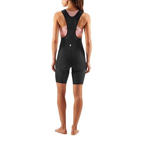 SKINS Cycle Lovecat Womens Bib 1/2 Tights Black XS - 4