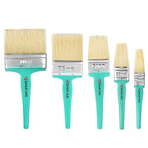 Spartan Paint Brush Handle Multicolour Set of 5 (100 MM+ 75 MM...