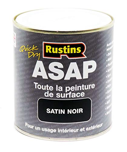 Rustins ASAPBL250 Asap Paint, 250 mL, Bl