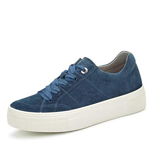 Legero Damen Lima Sneaker, Blau (Indaco) 8600, 41 EU