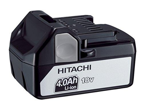 Hitachi BSL1840 Batería/Pila Recargable (4000 mAh, Ión de Litio, 18 V, Negro, 1 Pieza(s, BSL1840-4.0Ah Li-Ion