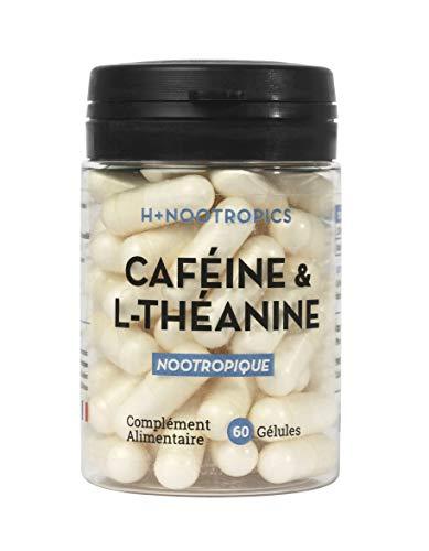 Nootropique stimulant - Caféine & L-Théanine -...