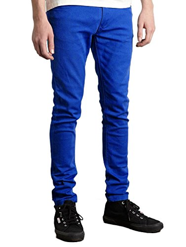 Criminal Damage Skinny Jeans Gr. 61 cm (24 Zoll), blau