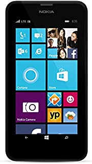 Nokia Lumia 635 Unlocked GSM Windows 8.1 Quad-Core Phone - Black