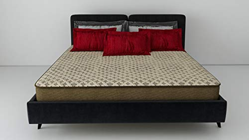 Dr Smith Memory Foam Dual Comfort Orthopaedic Mattress King Bed Size (75x72x8)