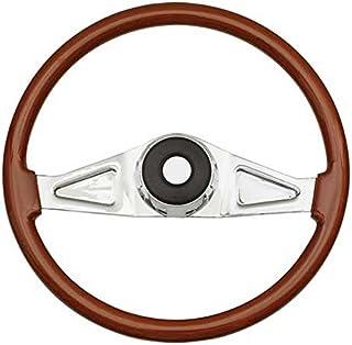 Woody's WP-SWPB.2 Rosewood Chrome Truck Steering Wheel (Beautiful African Hardwood)