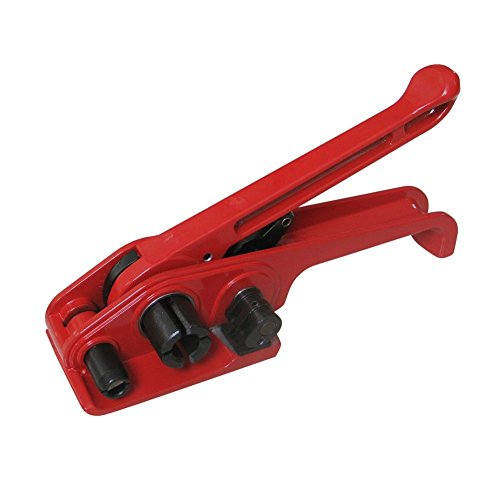 Poly Strapping Tensioner & Cutter Manual Banding Tools Windlass for 1/2' -3/4' Width Polyester Polyproplyn Strap