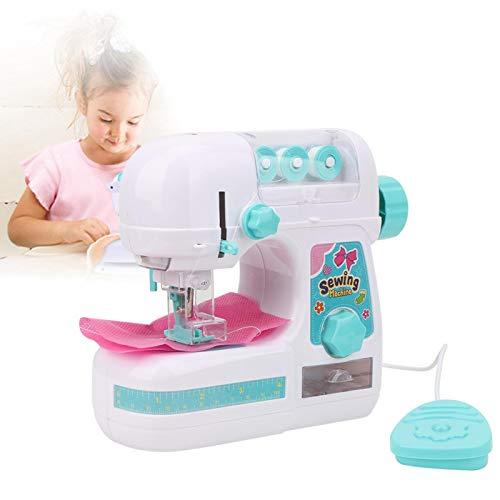 AMONIDA 【Venta del día de la Madre】 Juguetes de máquina de Coser eléctrica, Caja de máquina de Coser para niños Mini máquina de Coser eléctrica Juguete Educativo Interesante para niños niñas niños