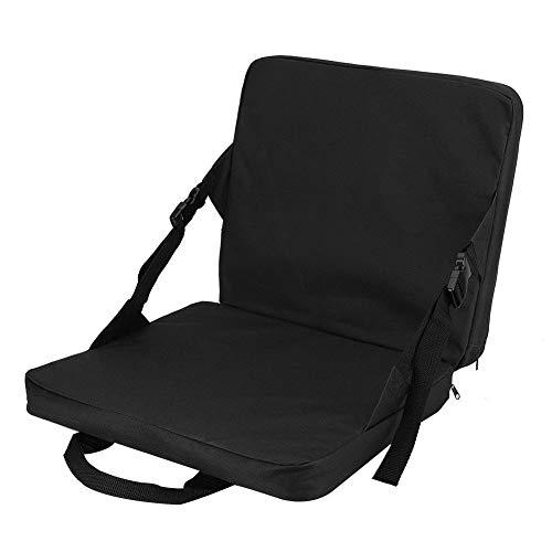 Vobor Universele draagbare klapstoel, all-in-one comfortkussen, ergonomisch zitkussen, rust, kussensloop met rugleuning, voor buiten en buiten