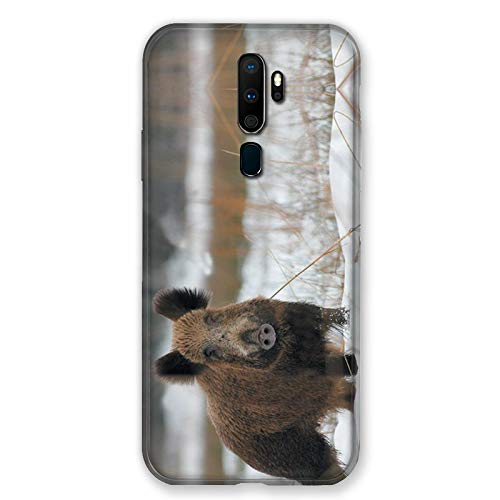 Carcasa para OPPO A9 (2020) Chasse Sanglier Nieves