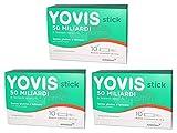 Buyfarma Promo Pack – 3 x Yovis Stick 50 miles de millones de fermentos lácticos vivos – 30 sticks solubles + regalo sorpresa